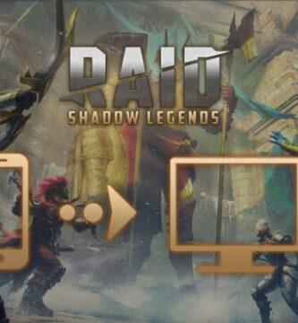 jugar a RAID Shadows legends para pc wiundows y mac