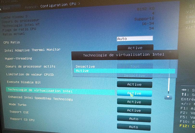 Habilitar la virtualización asistida por hardware para optimizar bluestacks