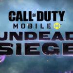 Undead Siege : El regreso del modo zombie de Call of Duty Mobile